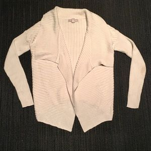 Banana Republic Cream Wool Wrap Cardigan